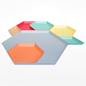 Kaleido Hexagonal Tray