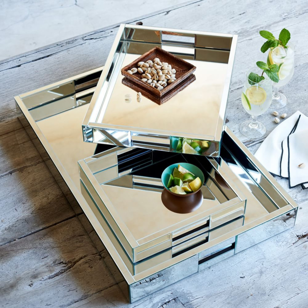 Perfect Serve 11 Serving Trays To Accessorize Your Kitchen Blender Basil