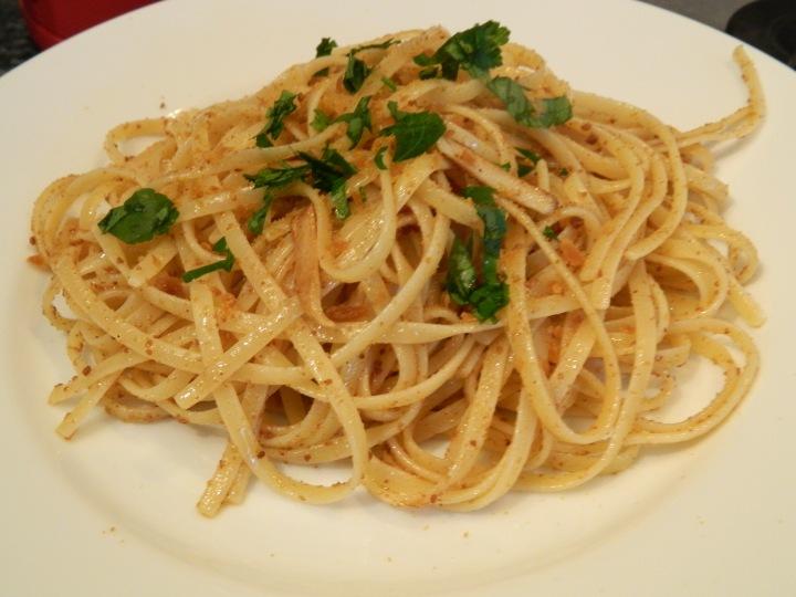linguine alla bottarga_pasta dish_sardinian recipe