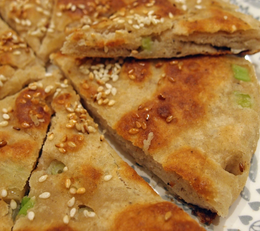 Scallion_pancake_flatbread_recipe