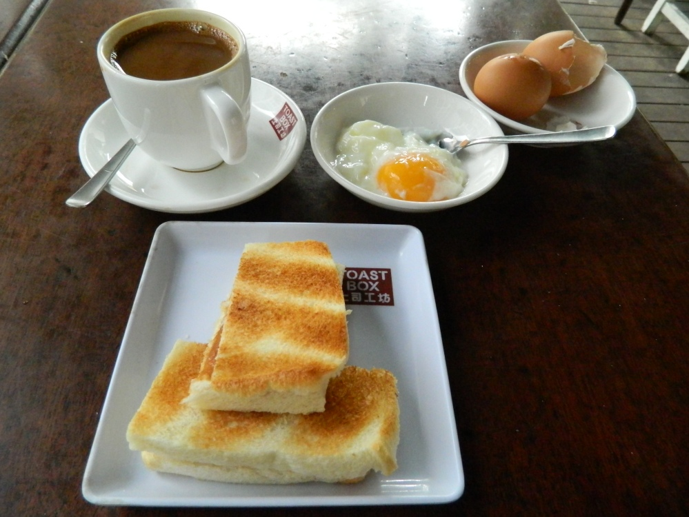 Kopi_Kaya Toast_Singapore_breakfast