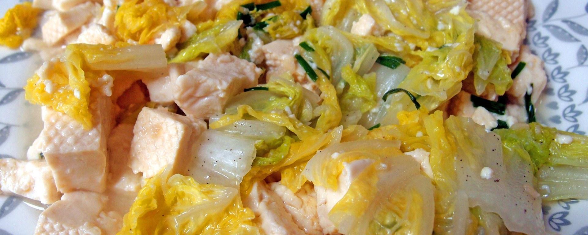 Tofu and Chinese Cabbage