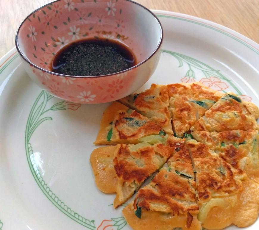 Courgette pancakes hu ta zi